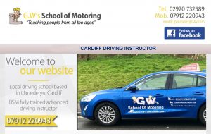 GWs SHOOL OF MOTORING