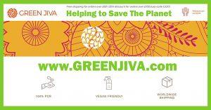 GREEN JIVA BANNER